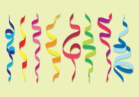Set vettoriale di serpentina