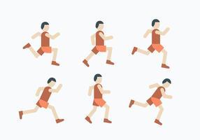 Set di icone di esecuzione 5K