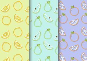 Modelli di frutta carino gratis