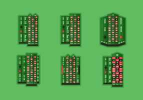 Tavolo della roulette