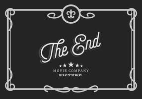 Illustrazione del film muto vettore