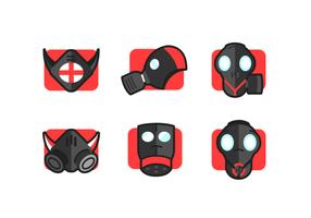 pacchetto di maschera maschera respiratore