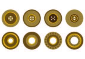 Set di icone di occhielli
