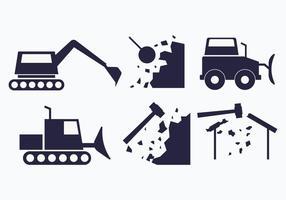 Illustrazione di demolizione