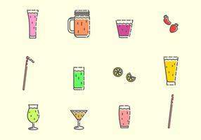 Vettore di bevande alcoliche