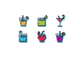 Mocktail vettoriale gratuito