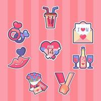 oggetti iconici celebrazione del giorno di San Valentino