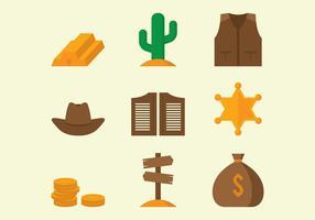 Icone del selvaggio West