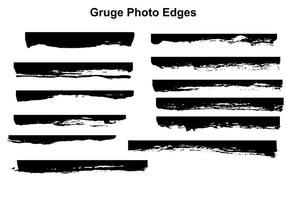 vettore di bordi di foto