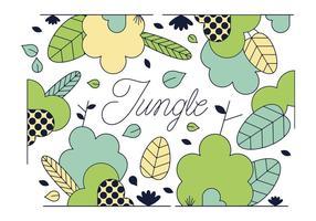 Vettore gratuito della giungla