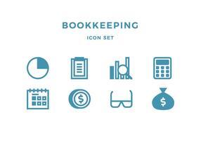 Icona di contabilità vettore
