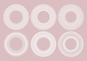 Vector Mandala decorativi