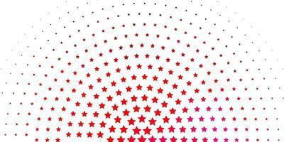 modello rosa chiaro con stelle astratte.