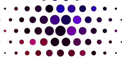sfondo rosso, viola con bolle.
