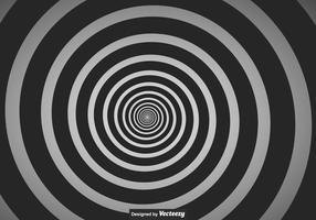Vettore in bianco e nero Vertigo Background