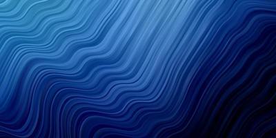 sfondo blu scuro con linee ironiche.