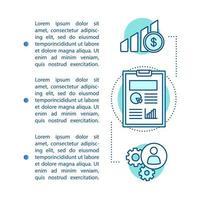 analisi aziendale, pagina dell'articolo sulle metriche