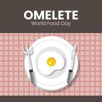 uovo della giornata mondiale dell'alimentazione
