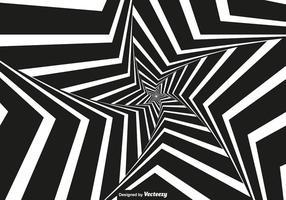 Vector Vertigo - Sfondo bianco e nero Vertigo