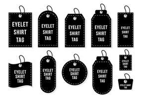 Eleyet Shirt Tag Vector
