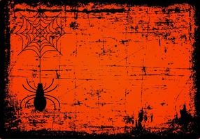 Grunge Spooky Halloween Background vettore