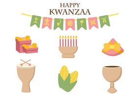 Icona di vettore di Kwanzaa