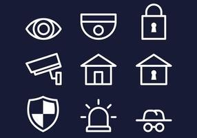 Icona della vigilanza di quartiere