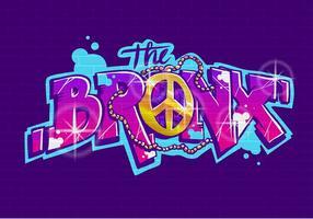 vettore di graffiti bronx