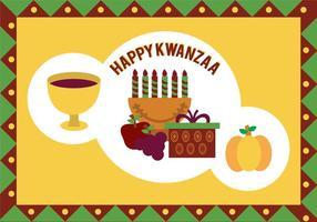Illustrazione vettoriale Kwanzaa