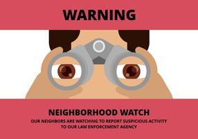 Illustrazione della vigilanza di vicinanza