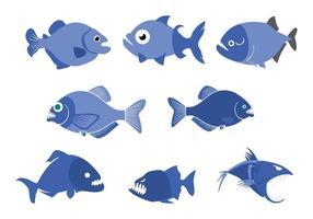 Piranha Vector gratuito