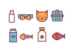 pacchetto di icone di gatto