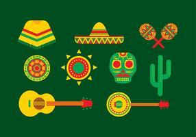 Vettore libero dell'icona del Messico