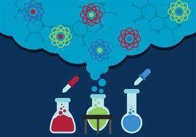 Vettore di sfondo di scienza