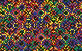 sfondo astratto cerchio colorato