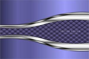 sfondo metallico moderno argento e viola