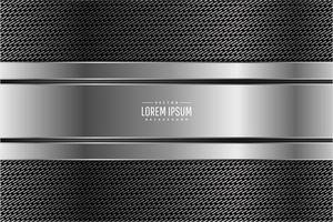 sfondo metallico moderno grigio scuro e argento