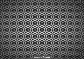 vettore metallico sfondo griglia dell'altoparlante