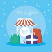 smartphone con tecnologia di acquisto online