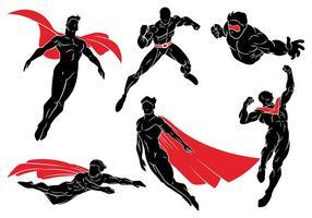 Icone di vettore di super eroi