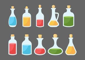 Bottiglia gratis con tappo vettoriale