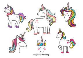 Vettore di unicorni