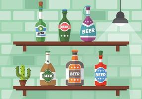 Confezione di birra Stopper Vector