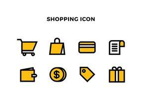 Shopping Icona vettoriali gratis