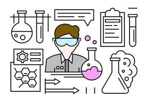 Icone vettoriali gratis sulla scienza