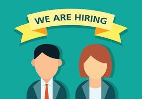 Job Vacancy Banner Vector