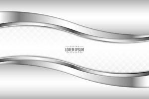 sfondo metallico moderno bianco e argento