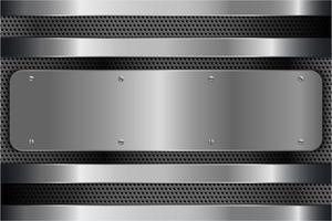 sfondo metallico argento moderno