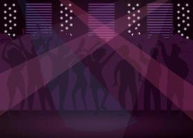 discoteca pista da ballo vettore