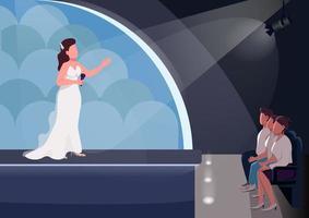 scena del talent show